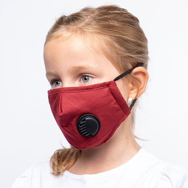 Barn-rod-med-ventil