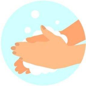 Vask hendene